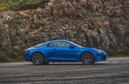 Alpine A110 Premiere Edition, 2018, side, static