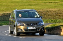 SEAT Alhambra, front, action