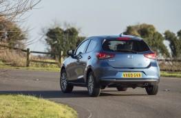 Mazda2, 2020, rear