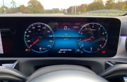 Mercedes AMG CLA 45 S 4MATIC+ Plus Coupe, 2020, instrument panel