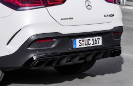 Mercedes-AMG GLE 63 Coupe, 2020, rear diffuser