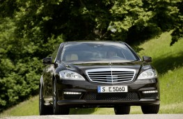 Mercedes S63 AMG, front