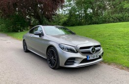Mercedes AMG C43 4MATIC Coupe, 2019, front