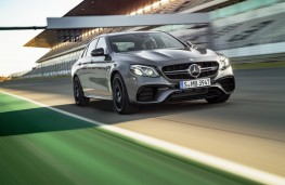 Mercedes-AMG E 63 S 4MATIC, front, action