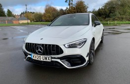 Mercedes AMG CLA 45 S 4MATIC+ Plus Coupe, 2020, front