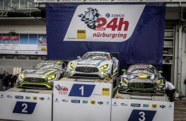 AMG, Nurburgring 24 Hour podium