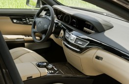 Mercedes S63 AMG, interior