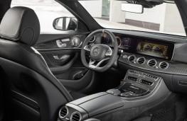 Mercedes-AMG E 63 Estate, 2017, interior