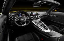 Mercedes-AMG GT S Roadster, 2018, interior