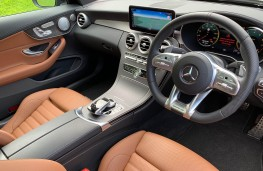 Mercedes AMG C43 4MATIC Coupe, 2019, interior