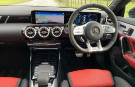 Mercedes AMG CLA 45 S 4MATIC+ Plus Coupe, 2020, interior