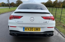Mercedes AMG CLA 45 S 4MATIC+ Plus Coupe, 2020, tail