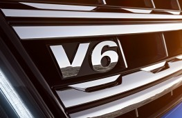 Volkswagen Amarok V6 diesel, grille