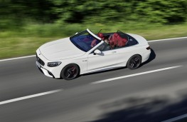 Mercedes-AMG S63 Cabriolet, 2017, overhead