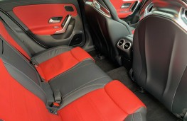 Mercedes AMG CLA 45 S 4MATIC+ Plus Coupe, 2020, rear seats