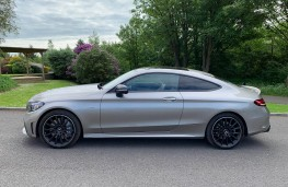 Mercedes AMG C43 4MATIC Coupe, 2019, side