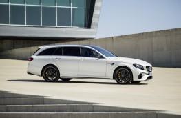 Mercedes-AMG E 63 Estate, 2017, side