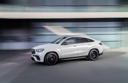 Mercedes-AMG GLE 63 Coupe, 2020, side