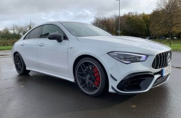 Mercedes AMG CLA 45 S 4MATIC+ Plus Coupe, 2020, front, static