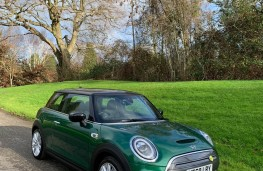 MINI Cooper Electric Level 2, 2020, front, upright