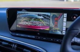 Toyota Mirai, 2021, reversing camera