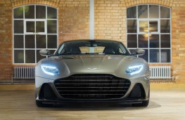 Aston Martin DBS Superleggera On Her Majesty's Secret Service speical edition, 2019, nose