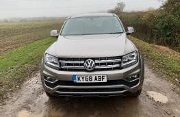 Volkswagen Amarok, 2018, nose, off road