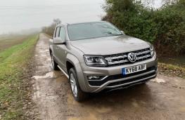 Volkswagen Amarok, 2018, front, off road