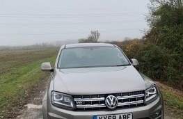 Volkswagen Amarok, 2018, nose, upright