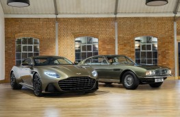 Aston Martin DBS Superleggera On Her Majesty's Secret Service speical edition, 2019, with original 1969 DBS