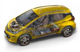 Opel Ampera-e, cutaway