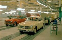Volvo Amazon, production