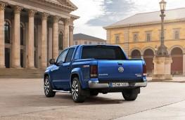 Volkswagen Amarok V6 diesel, rear