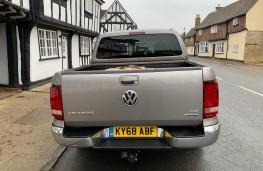 Volkswagen Amarok, 2018, rear