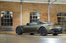 Aston Martin DBS Superleggera On Her Majesty's Secret Service speical edition, 2019, rear