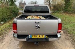 Volkswagen Amarok, 2018, rear, loaded, off road