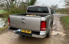 Volkswagen Amarok, 2018, rear, off road