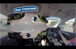 Young Driver lockdown app, crossroad