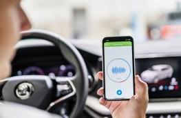 Skoda Sound Analyser, 2020, app in car