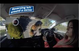 Young Driver lockdown app, reversing around corner