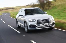 Audi Q5 2.0 TFSI quattro, 2017, front, action