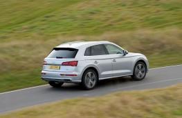 Audi Q5 2.0 TFSI quattro, 2017, rear, action