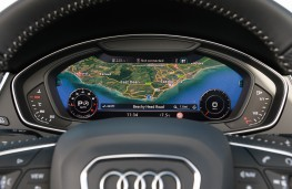 Audi Q5 2.0 TFSI quattro, 2017, virtual cockpit, instrument panel