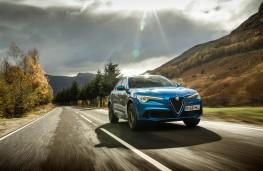 Alfa Romeo Stelvio, side