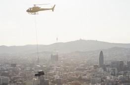 SEAT Arona, 2017, overflying Barcelona