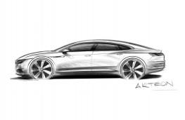 Volkswagen Arteon, sketch