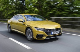 Volkswagen Arteon R-Line, 2018, front, action