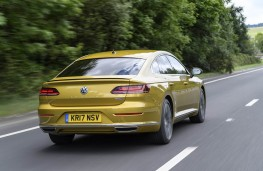 Volkswagen Arteon R-Line, 2018, rear, action