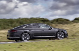 Volkswagen Arteon, 2017, side, action