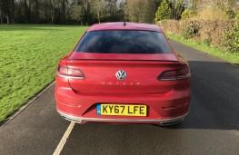 Volkswagen Arteon R-Line, 2018, tail, static